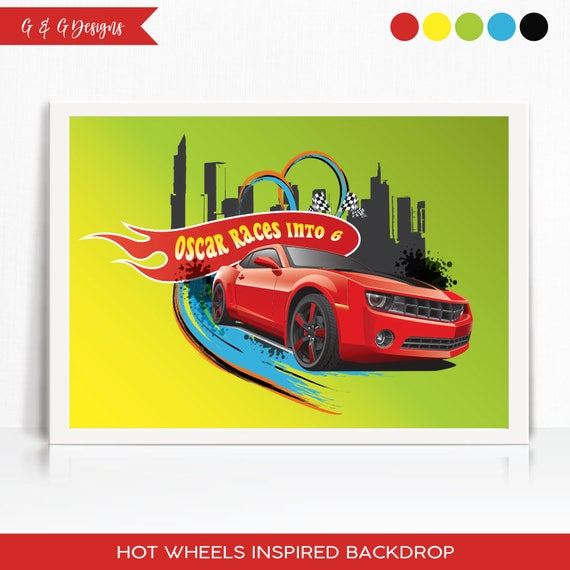 photo relating to Hot Wheels Printable titled Scorching Wheels Influenced Backdrop - Printable by way of Giggles Grace