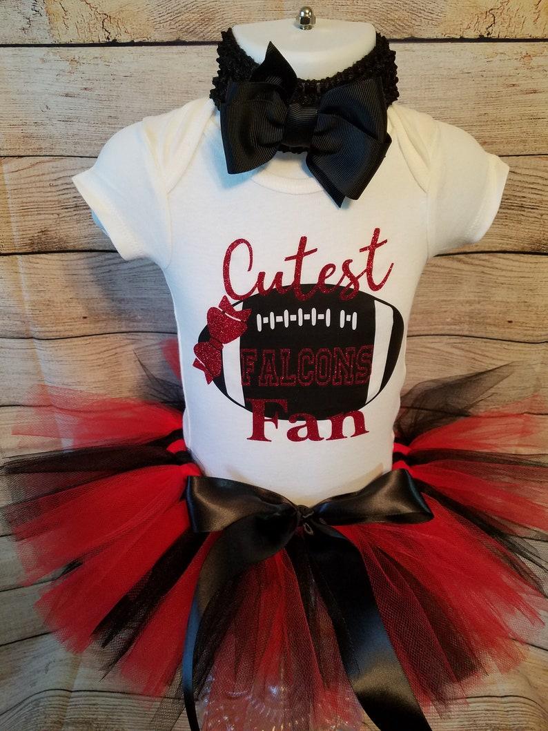 Falcons Tutu Outfit I Falcons Baby Outfit I Falcons Girl Outfit I Falcons Baby I Falcons Baby Shower I Atlanta Falcons Baby Outfit