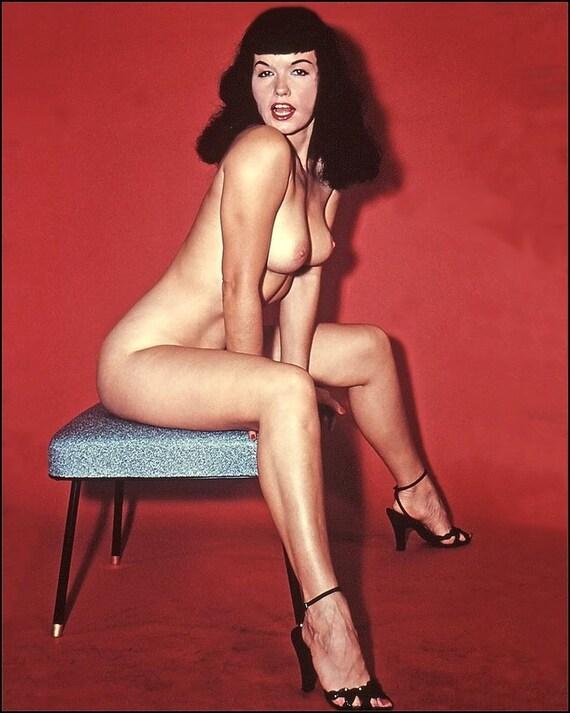 Page nackt Betty  Betty Page