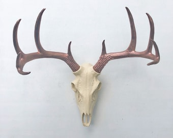 Any Color Realistic Deer Skull Wall Mount Fake Deer