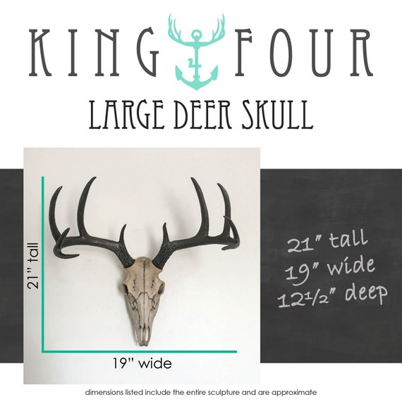 241 Large Giant Epic Big Red Deer Antlers Skull Taxidermy Wall Hanging Shamanic Charm Floor Display Fine Art Gothic Home Decor