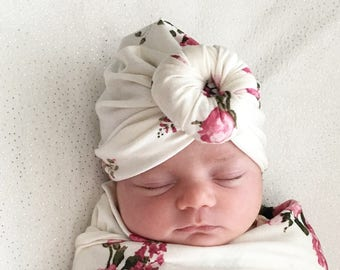 Baby Turban Hat in