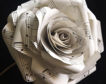 Wedding Paper Flower Etsy