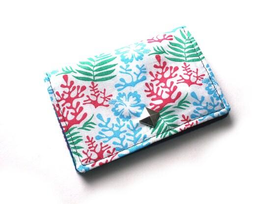 Porte cartes d'affaires, cartes d'affaires floral, petits cadeaux pour cadeau de courses pour un ami