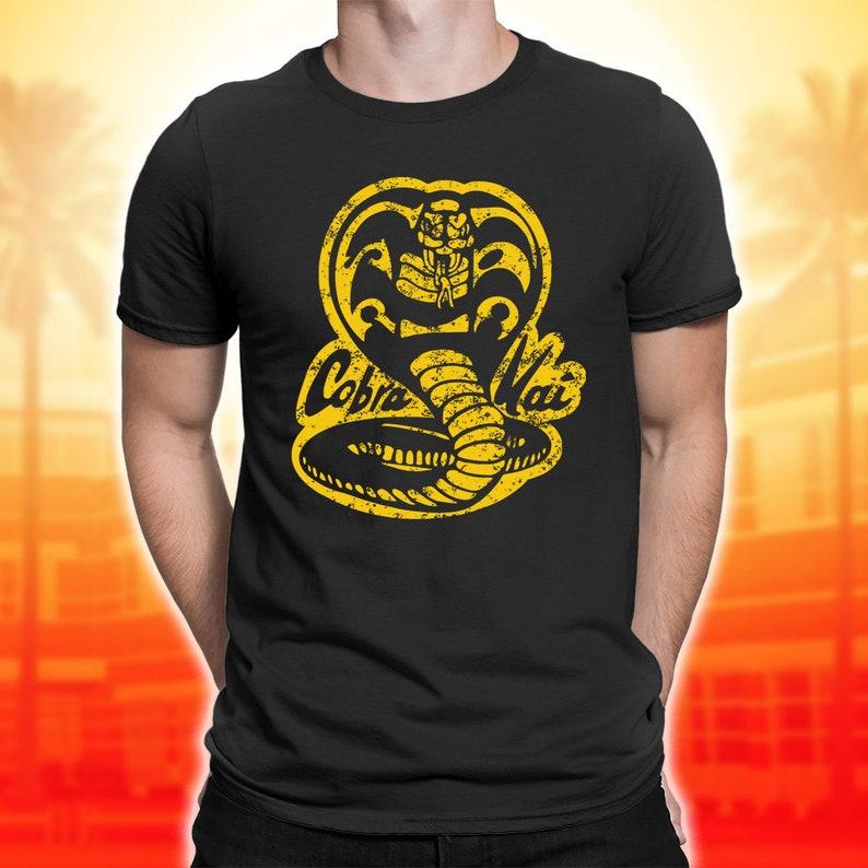 09bf2562 Cobra Kai T Shirts Karate Kid tee Cobra Kai Dojo shirt | Etsy