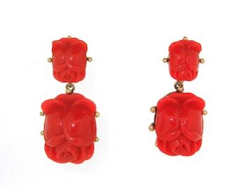 vintage earrings on etsy