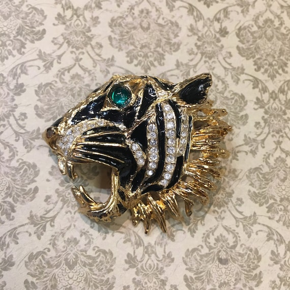 Tiger Brooch - image 3