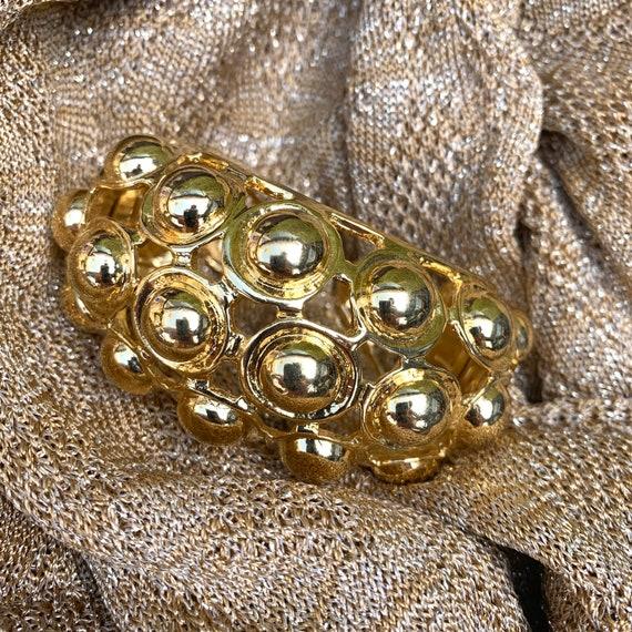 Golden Bracelet by Kenneth Jay Lane