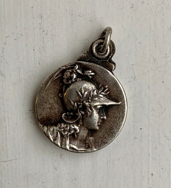 French 1920's Silver Locket