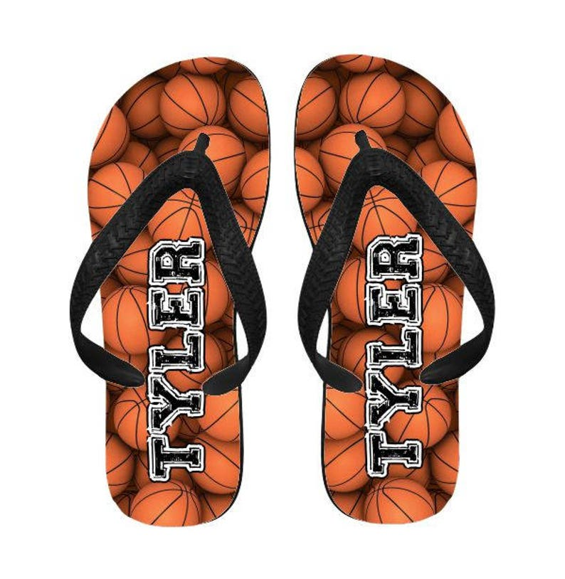 43c67503f70929 Personalized Sports Flip Flops    Personalized Camp Flip Flops