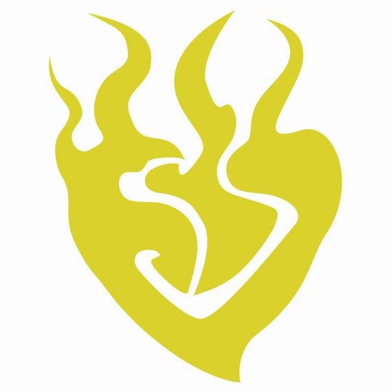 Rwby Yang Symbol Decal Vinyl Logo