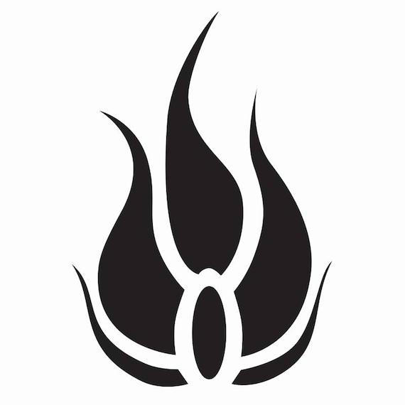 Rwby Blake Symbol Decal Vinyl Logo