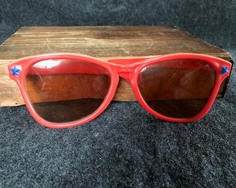 78c491c5df Vintage giant toy red sunglasses