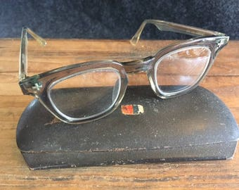 448454301a0 Fabulous B L horn-rimmed safety glasses