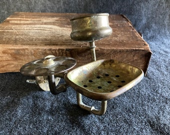 rustic Soap Dish Soap Dish with wasserhahndeko Details about  /Soap Holder as antique show original title