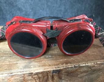 Vintage welder's goggles