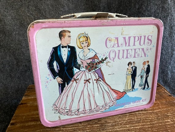 Campus Queen metal lunchbox with Thermos
