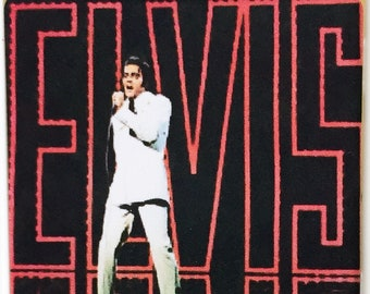 Elvis Presley movie poster Pin Badge #5 - Roustabout Girls Girls Girls Charro Blue Hawaii King Creole Girl Happy - New