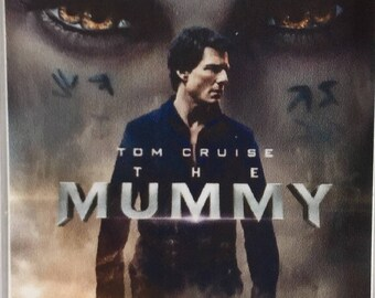The Mummy Tom Cruise Russell Crowe Annabelle Wallis Sofia Boutella movie poster Fridge Magnet & Keyring New