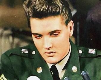 Elvis Presley Army Days poster Fridge Magnets & Keyrings #3 - Hell On Wheels New