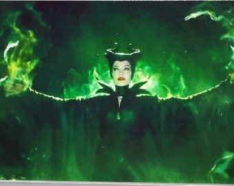 Maleficent Angelina Jolie Sharlto Copley Ellie Fanning movie poster Fridge Magnets & Keyrings Version 3 - New