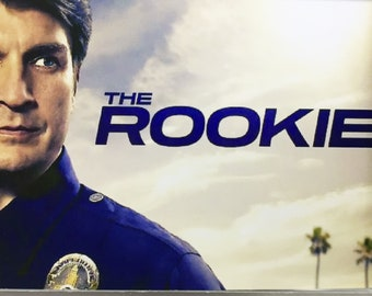 The Rookie Nathan Fillion Tessa James Titus Makin Jr. Andrea Alvear TV poster Fridge Magnets & Keyrings New