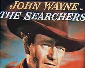 The Searchers John Wayne Ward Bond Jeffrey Hunter Natalie Wood movie poster Fridge Magnet & Jumbo Keyring New