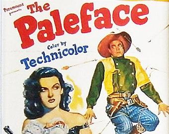 The Paleface Bob Hope Jane Russell Iron Eyes Cody movie poster Fridge Magnet and Jumbo Keyring - New
