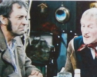 Steptoe & Son Wilfrid Brambell Harry H Corbett TV poster Fridge Magnets and Keyrings - New #2