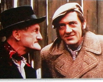 Steptoe & Son Wilfrid Brambell Harry H Corbett TV poster Fridge Magnets and Keyrings - New #1