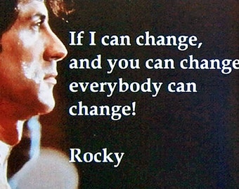 Rocky IV Sylvester Stallone Burt Young Talia Shire movie poster quote movie poster Fridge Magnets & Keyrings - New