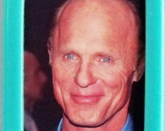Ed Harris movie poster Silicone Keyrings New - Black, Turquoise, Lime Green, Pink & Fridge Magnets The Abyss Appaloosa National Treasure