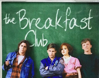 The Breakfast Club Emilio Estevez Judd Nelson Molly Ringwald Mini Fridge Magnet & Keyrings - New