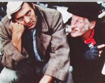 Steptoe & Son Wilfrid Brambell Harry H Corbett TV poster Fridge Magnets and Keyrings - New #3
