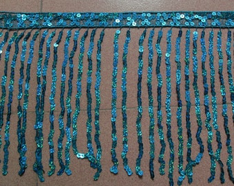 29cm sequins fringe, 54 different colors for your choice, 15yards/color/lot, customer may choose color from color chart