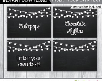 photo relating to Free Printable Chalkboard Labels known as Allison Carey upon Etsy