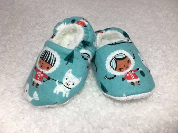 Baby Booties 9-12 months  Slippers Shoes No Skid Sole  25b3f4598489