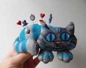 Cheshire Cat Pin Cushion Pins