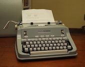 Cursive Script 1970 Hermes 3000 typewriter in excellent condition- fully tested and working