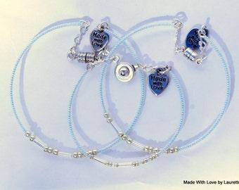 Name, Personalized , Custom Morse Code Bracelet, New Trending, Secret Message Bracelet, Secret Code Jewelry, Custom Jewelry