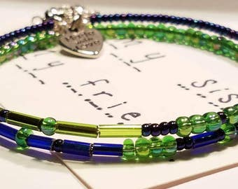Sister Morse Code Bracelet, Secret Message, Secret Code Jewelry, Friend Jewelry, Beach Life, Best Friend, BFF, Dare to Dream, Custom