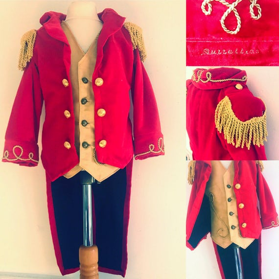 3cab03ce Ringmaster Ringmaster with with with boys for tailcoat for costume  waistcoat Etsy men g4wgrPq
