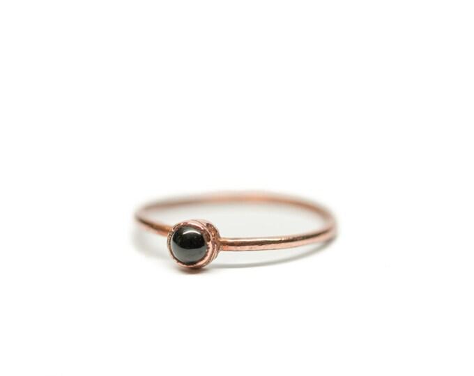 ONYX Stacking Ring