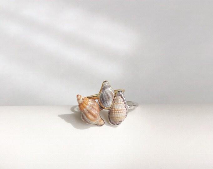 Seashell Stacking Ring