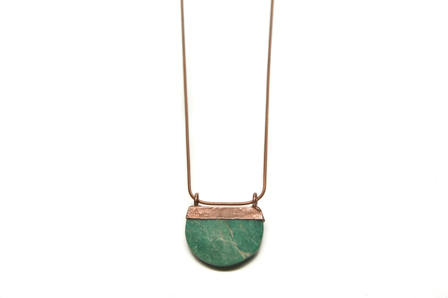 b62b85895041e9 Genuine Turquoise Half Moon Necklace // Turquoise Necklace // Electroformed  Turquoise // Turquoise // Joanna Gaines Necklace