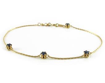 Busted Dark Blue - bracelet