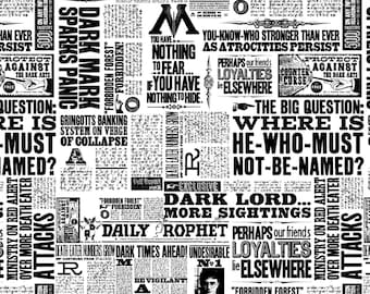 image relating to Daily Prophet Printable named Every day prophet Etsy