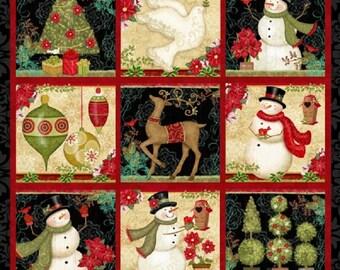 Winter Bliss Panel by Studio E Fabrics