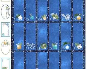 O Christmas Tree Advent Panel by Northcott Fabrics