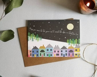 May You Never Be Too Grown Up To Search The Skies On Christmas Eve Card